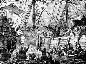 ship- boston tea party