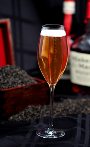 Southern Earl Grey with bourbon and prosecco.