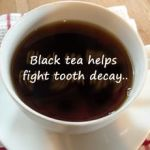 black tea and tooth health